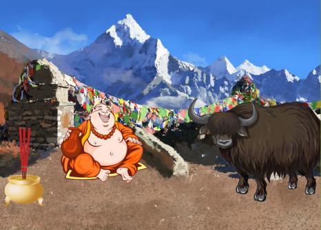 Scappate in Nepal con i vostri compagni!